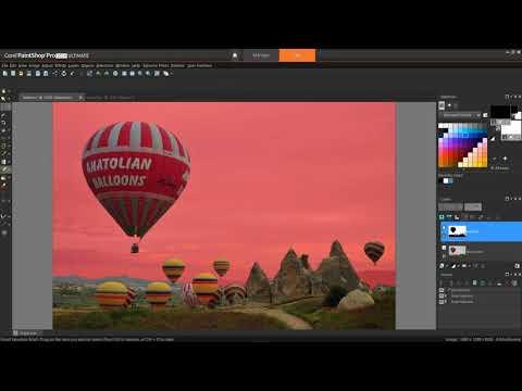 Making A Fine-detail Selection In PaintShop Pro