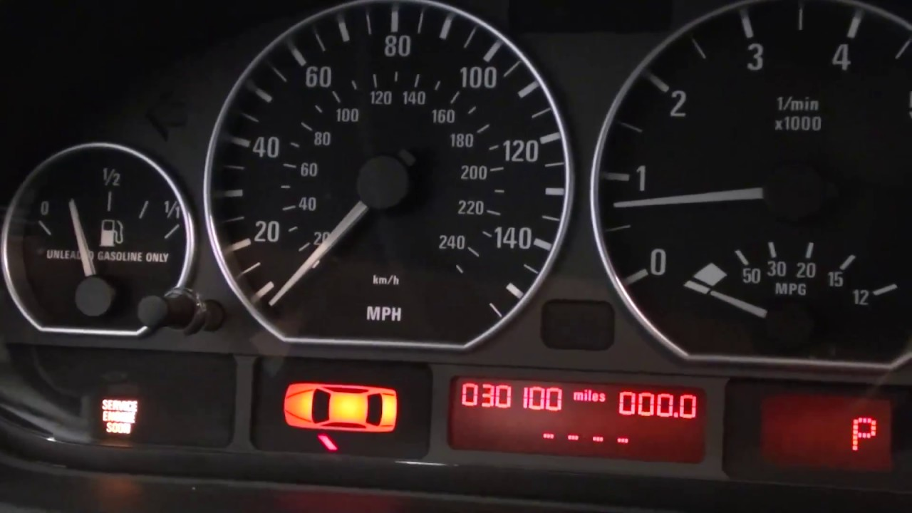 Reset Service Engine Soon Light On Bmw E46 330i Youtube