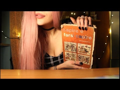 [ASMR] PAGE TURNING of an Old Book with FINGER LICKING📚|Whispered 💤