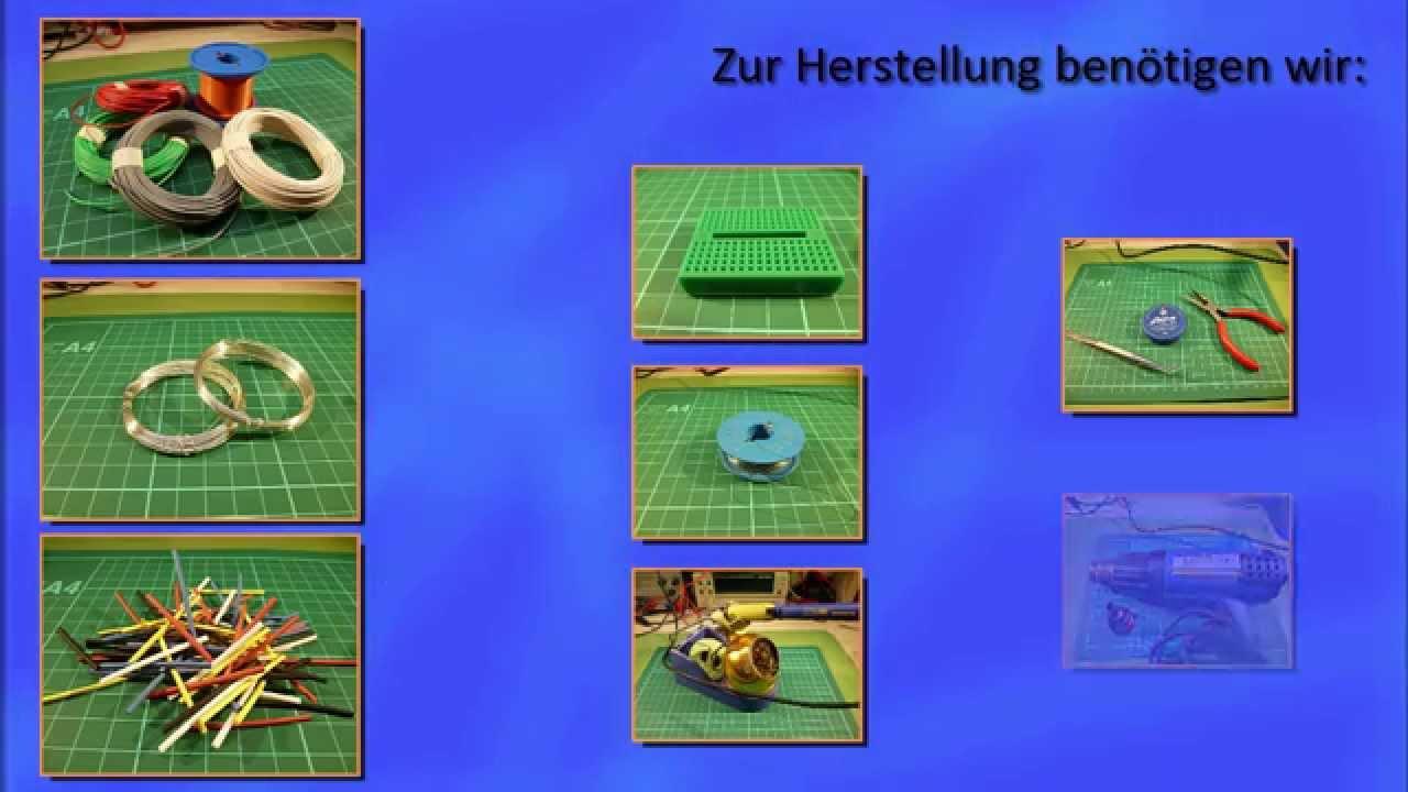 Netzwerkkabel Selber Machen : breadboard kabel selber machen funnydog tv ~ Watch28wear.com Haus und Dekorationen