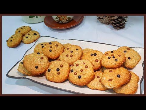 ♡•cookies-aux-flocons-d'avoine,-farine-complÈte,-noix-de-coco-et-grains-de-sÉsame-•♡