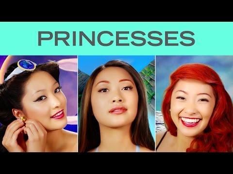 Disney Princess Transformation Time-lapse