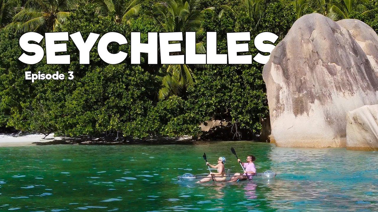 გადავდივართ ახალ კუნძულზე/გიგანტური კუები – Seychelles Episode 3
