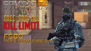 Modern Combat 5: Blackout - Free-For-All Kill Limit - FS80 Tier 6 SMG (iOS)