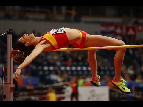 Ruth Beitia attempts at European Athletics indoor ...