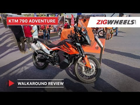 KTM 790 Adventure India Walkaround Video | Expected Price, Features, Details & More
