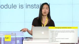 H2O - Hands on with R, Python and Flow with Amy Wang