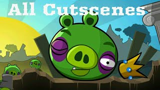 Angry Birds: All cutscenes ( Old Version )