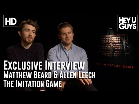 Matthew Beard and Allen Leech   The Imitation Game