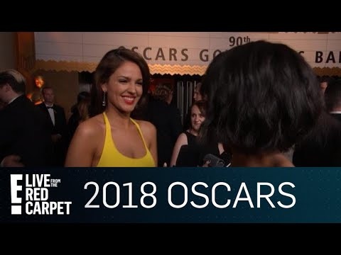 Eiza Gonzalez on Frances McDormand's Powerful Speech | E! Live from the Red Carpet