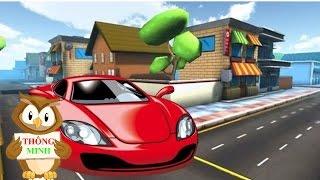 Bé tập nói Tên gọi và âm thanh phương tiện giao thông | dạy trẻ thông minh sớm