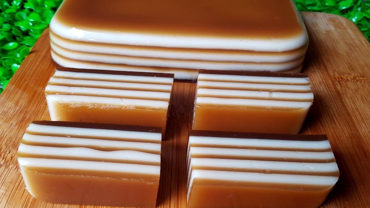 Cách Làm Thạch Rau Câu Cà Phê Giòn Ngon Không Tách Lớp   Góc Bếp Nhỏ