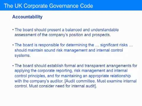 10 Elements of corporate governance