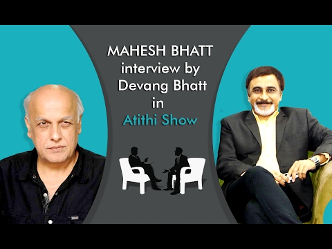 Mahesh Bhatt | Film Director | Writer | Producer | Interview with Devang Bhatt