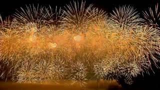 видео большой праздник пиротехника