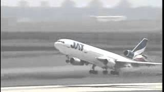 JAT DC10 taking off from Belgrade airport
