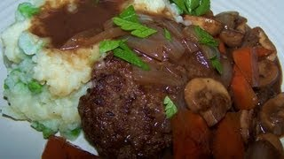 Salisbury Steak - Gluten Free