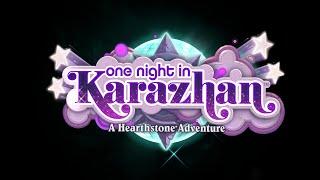 Hearthstone One Night in Karazhan gameplay