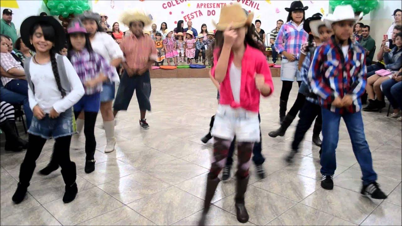4º ano A - Alô Galera de Cowboy