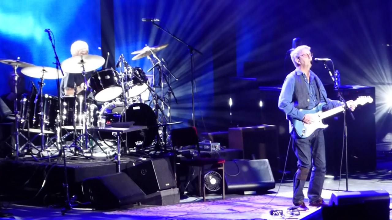 Eric Clapton Wonderful Tonight Madison Square Garden Ny 2017 Youtube
