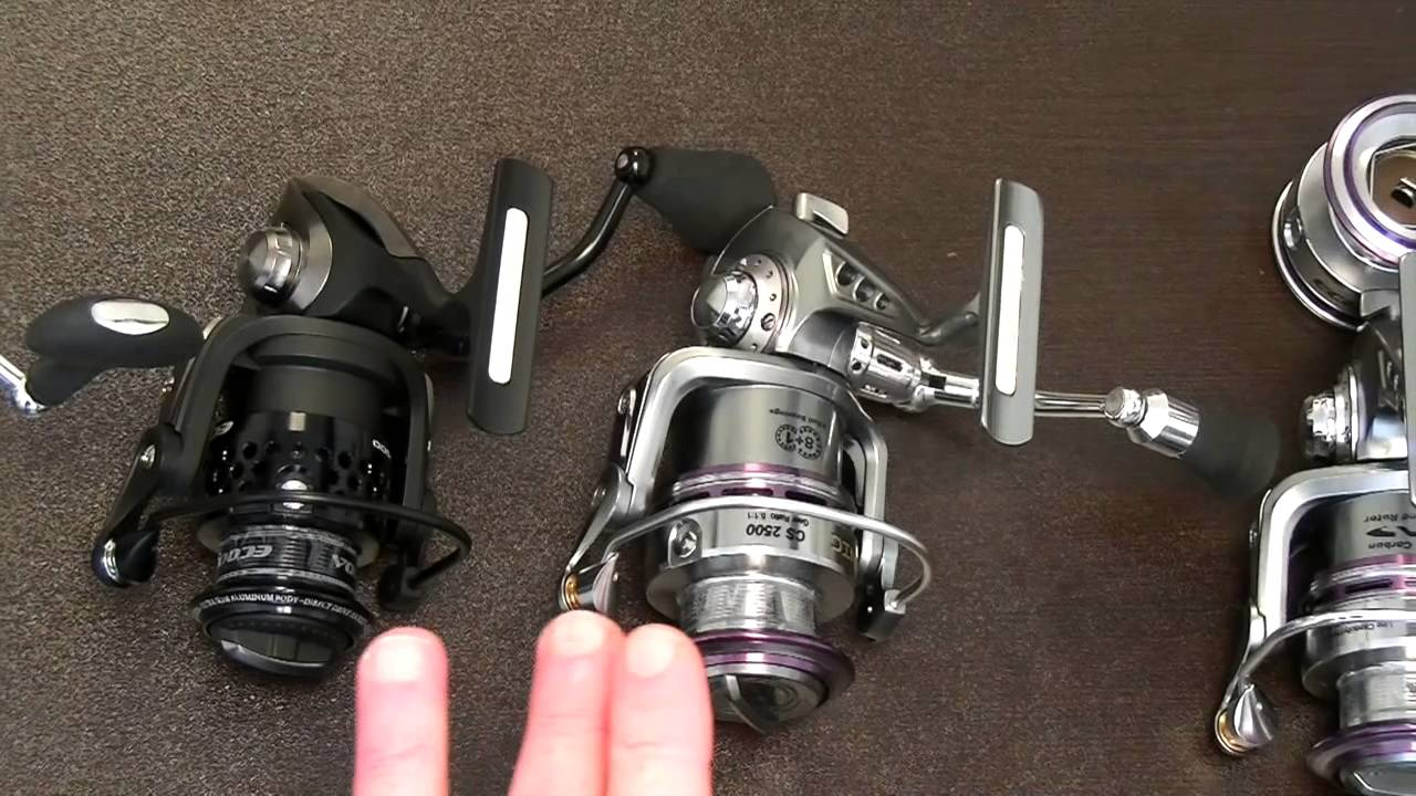How to choose a spinning reel 7