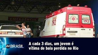 Download Video A cada 3 dias, um jovem é vítima de bala perdida no Rio | SBT Brasil (02/05/19) MP3 3GP MP4