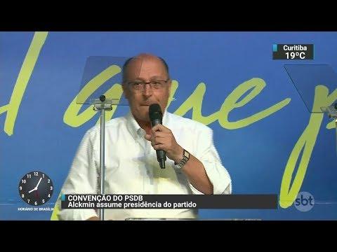 Alckmin ataca Lula: ´Quer voltar ao local do crime´ | SBT Brasil (09/12/17)
