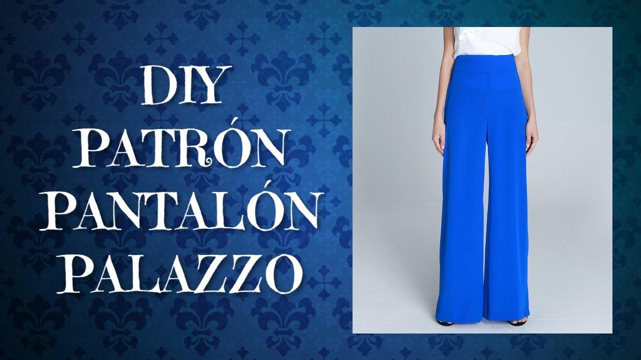 Tutorial Trazo De Pantalon Palazzo O Bota Ancha Leccion 34 Youtube