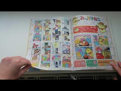 Sumikko gurashi, Cinnamoroll,  Gudetama und Rilakkuma Japanische Zeitung mit Characteren aus Japan