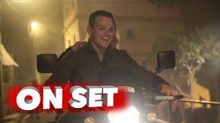 Jason Bourne: Behind The Scenes Exclusive Featurette - Matt Damon Movie Broll