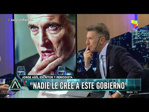 Jorge Así sobre el Gobierno: Nadie les cree
