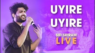 Sid Sriram live Uyire Uyire Rhythm 2019