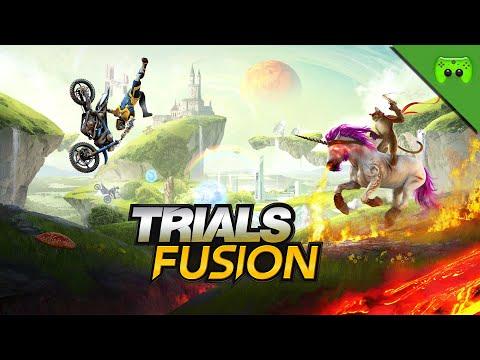 KNAPPE SACHE 🎮 Trials Fusion #9