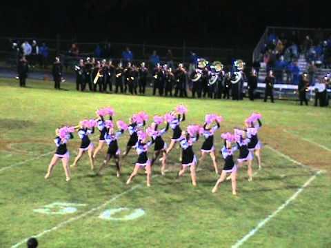 Almont Dance Team - Oct 5th 2012