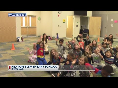 Rob Fowler visits the 2nd graders at Nexton Elementary School 2018
