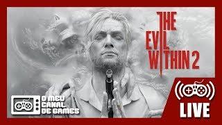 [Live] The Evil Within 2 (PS4 Pro) - Testando Modo PRIMEIRA PESSOA AO VIVO