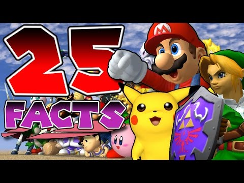 25 Things You Probably Didn't Know About Super Smash Bros. Melee! (25 Facts)