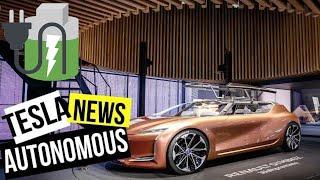 Electric car news Tesla Drunk driver and Tesla Semi truck