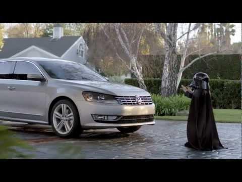 Прикольная реклама авто Volkswagen Passat Дарт Вейдер