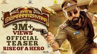 Avane Srimannarayana - Official Teaser 2   Rakshit Shetty   Pushkar Films   Sachin   Shanvi