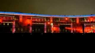 Световое 3D шоу на Дворцовой площади / 3D light show