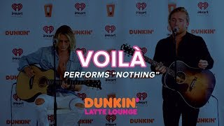 VOILÀ Performs 'Nothing' Live | DLL