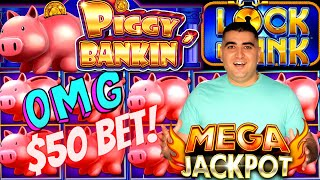 I Broke The Record! MY BIGGEST HANDPAY JACKPOT On PIGGY BANKIN Slot Machine | Season 8 | Episode #21