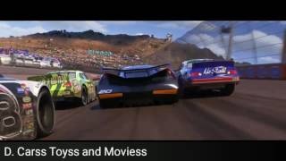 Disney - Pixar Cars 3 Movie New Trailer #8 ( 2017 )