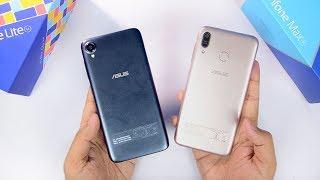 Asus Zenfone Max M1 & Zenfone Lite L1 Dual Unboxing & Hands on Review   Camera Samples 🔥