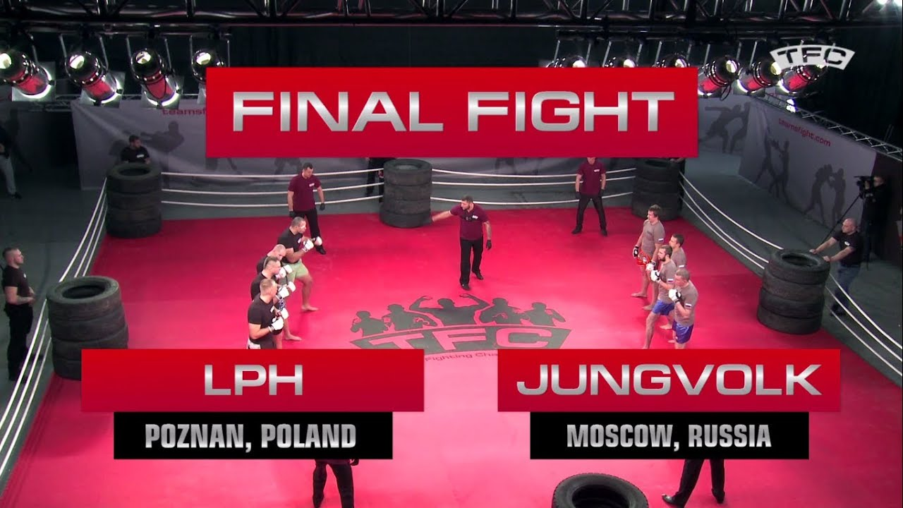Download Video of final Fight of the TFC Event 1 LPH (Poznan, Poland) vs JungVolk (Moscow, Russia)