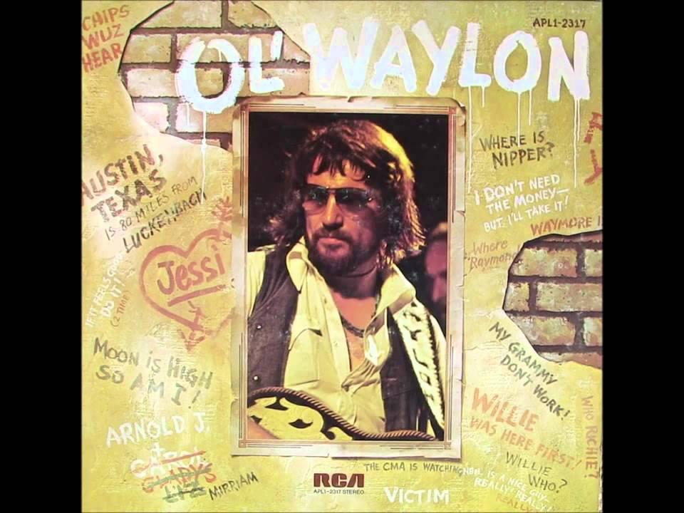 """1977"" ""Luckenbach Texas"", Waylon Jennings & Willie Nelson"