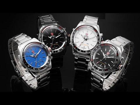 Мужские спортивные кварцевые часы SHARK. Men's Sports Quartz SHARK Watch. Как у Птушкина.