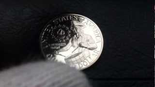 "Coins : USA Quarter 1976 S Proof coin aka ""Bicentennial Quarter"" or Bicentennial coin"