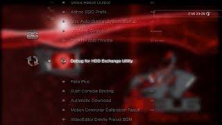TUTO FR PS3 DEBUG FOR HDD EXCHANGE UTILITY (changer son disque dur en gardant ses données)